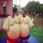 Şişme Oyun Büyüklere Sumo Güreşi